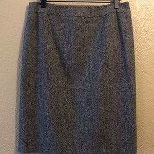 Wool JCrew pencil skirt, 8
